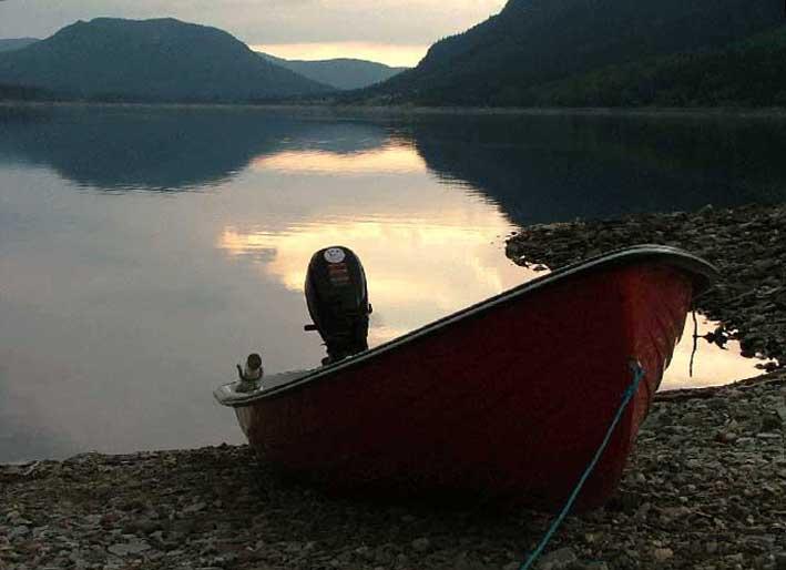 Hyr båt i Borgasjön